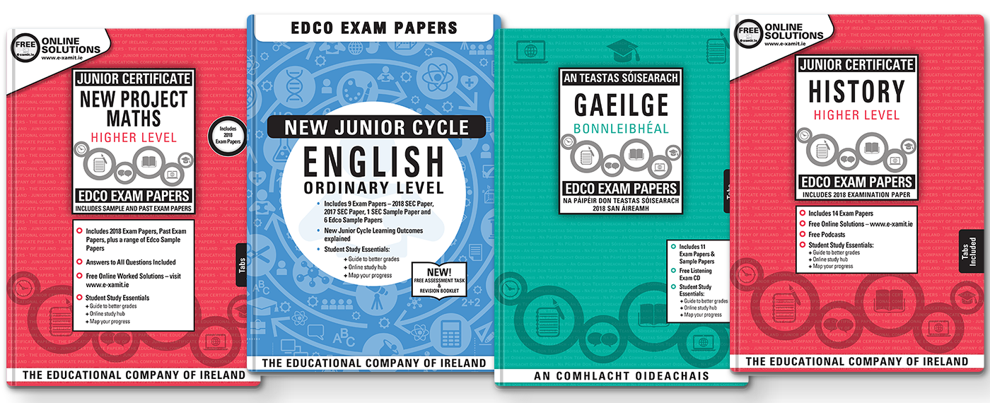 Junior Certificate Exam Papers NOW AVAILABLE!