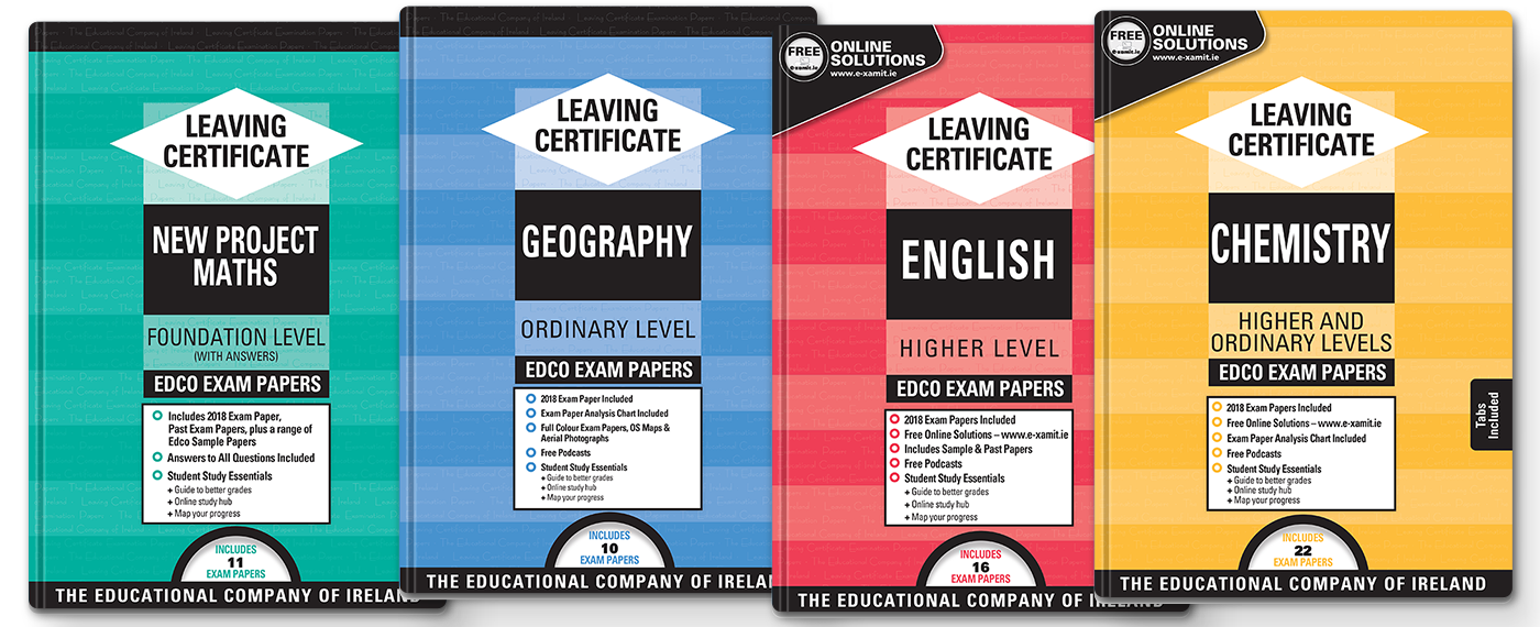 Leaving Certificate Exam Papers NOW AVAILABLE!