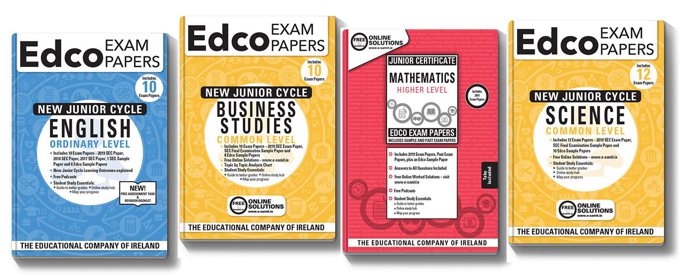 Junior Cycle/Junior Certificate Exam Papers NOW AVAILABLE!